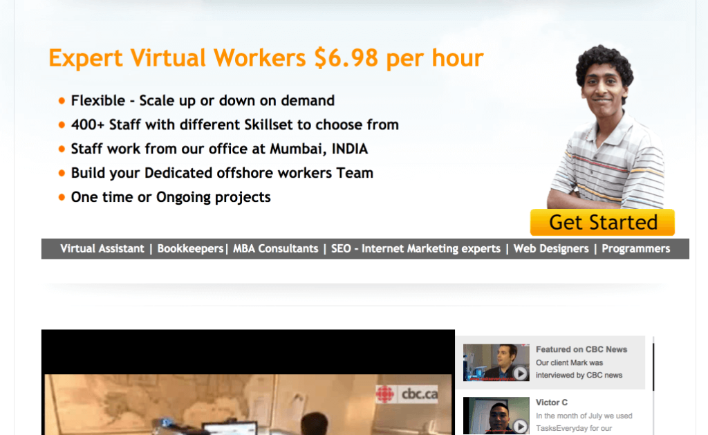 high converting landing page expert virtual workers