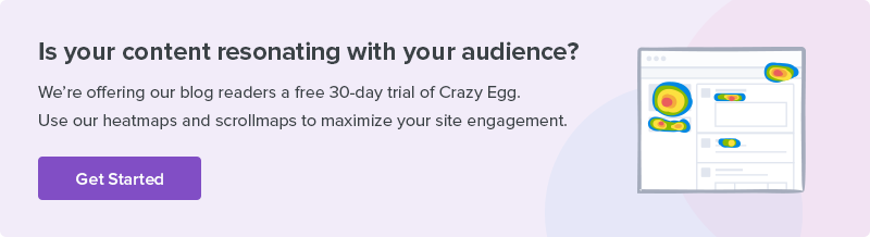 crazy egg maximize visitor engagement
