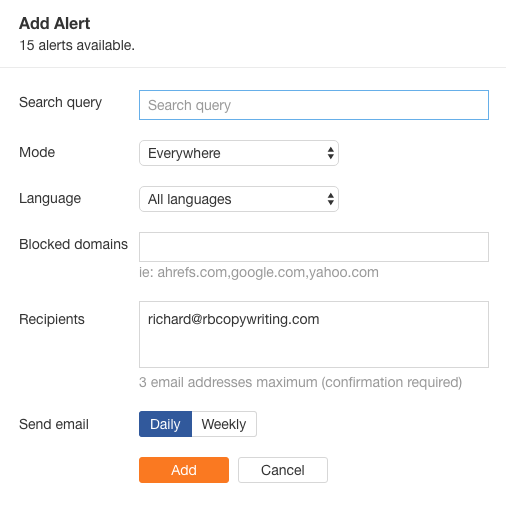 backlink berkualitas google alert