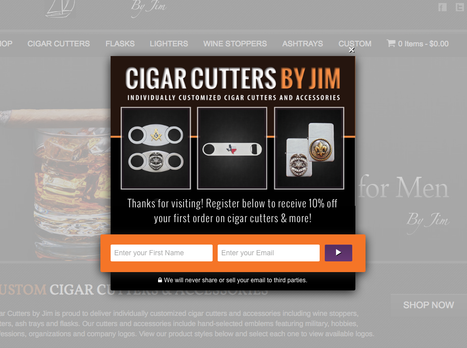 popup-forms-cigar-cutters