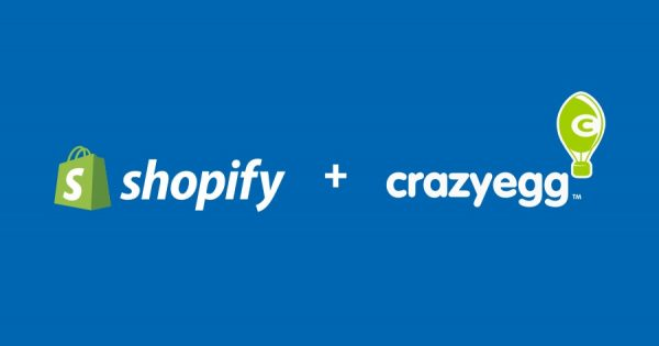 crazy egg and shopify