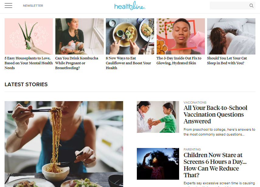 best-homepage-healthline