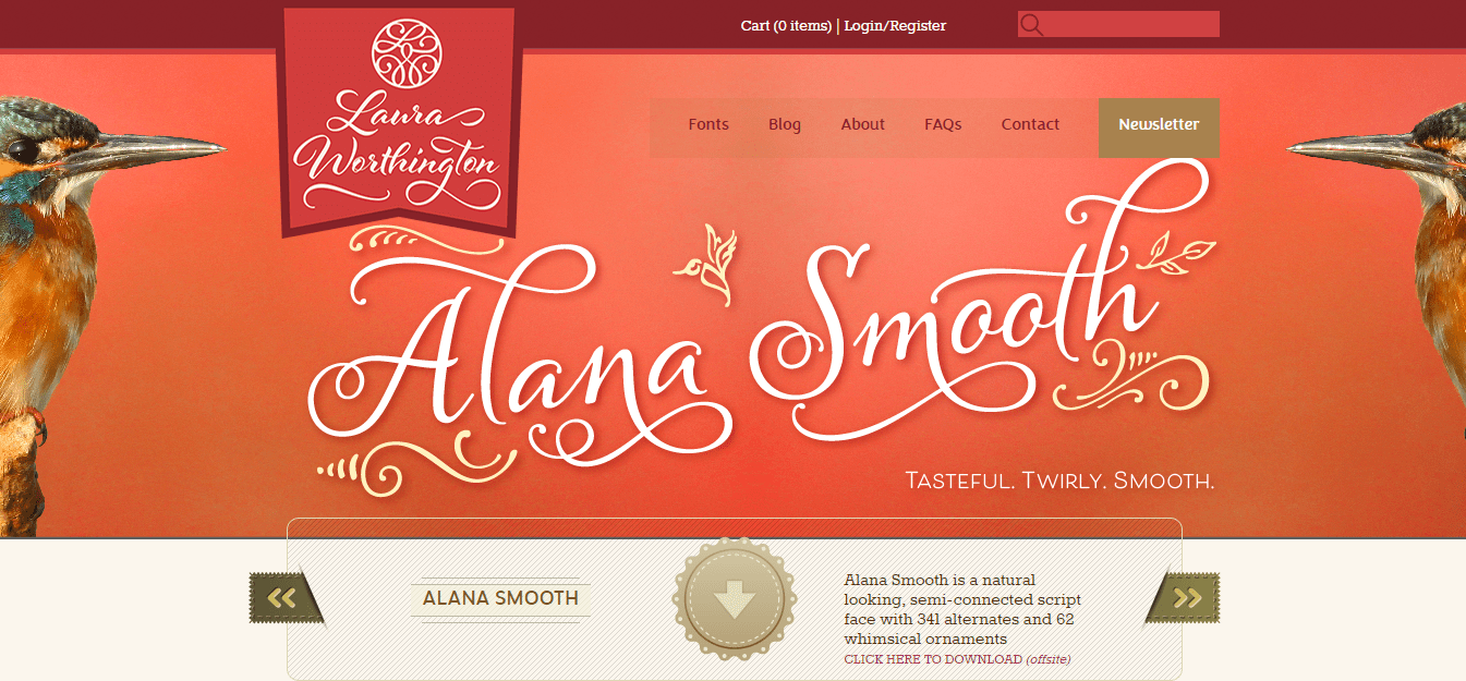 best-homepage-laura-worthington-fonts