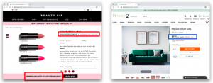 Ecommerce marketing: Pricing language