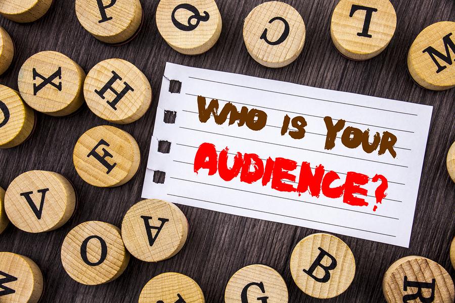 target audience step 3