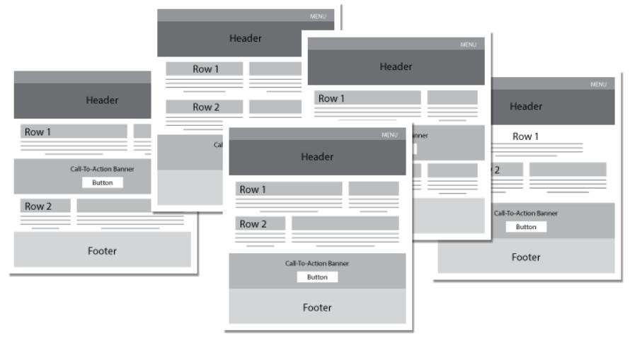 landing-page-ab-testing-layout