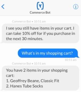 ecommerce chatbot