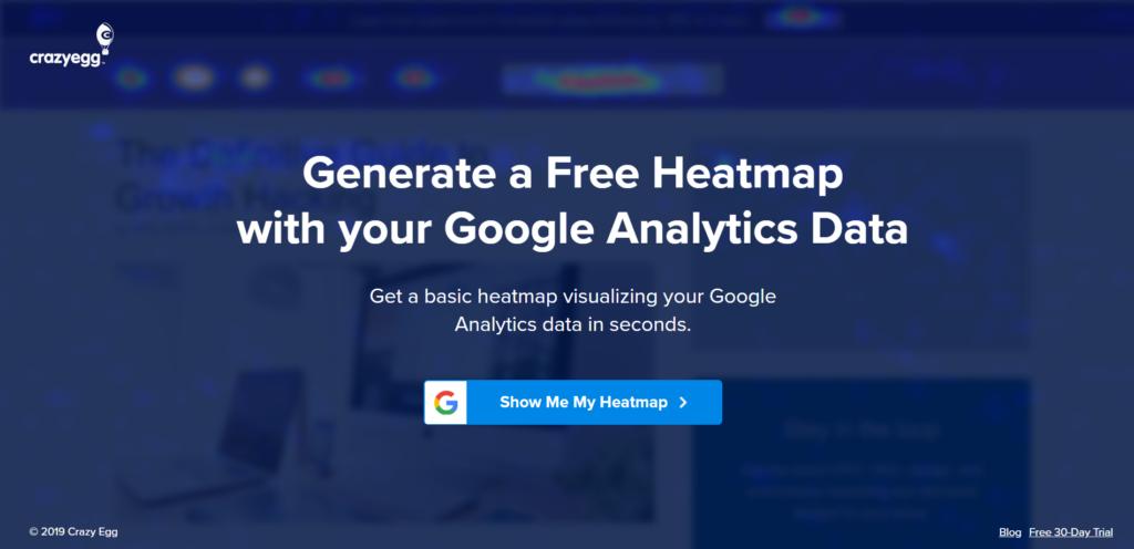 Introducing the Free Google Analytics Powered Heatmap: A