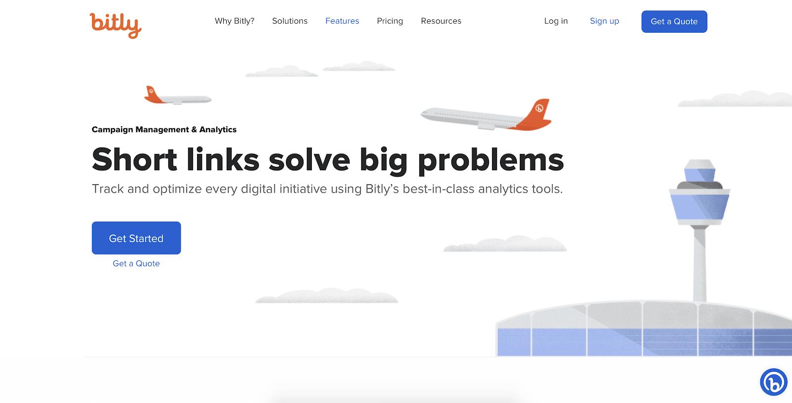 SaaS analytics tools: Bitly