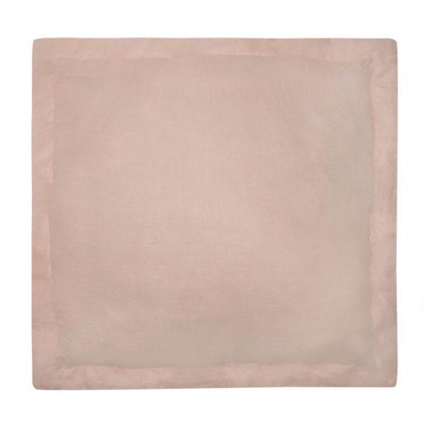 2199 pink linen sham euro