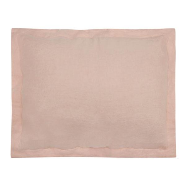 2199 pink linen sham