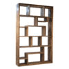 mariz recycled wood bookcase