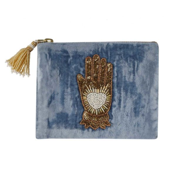 hamsa-light-blue-pouch