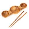 olive wood chopstick bowl 1