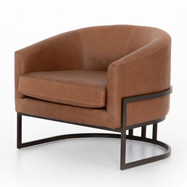 corbin chair sand leather