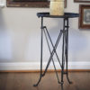 metal round accent table 2