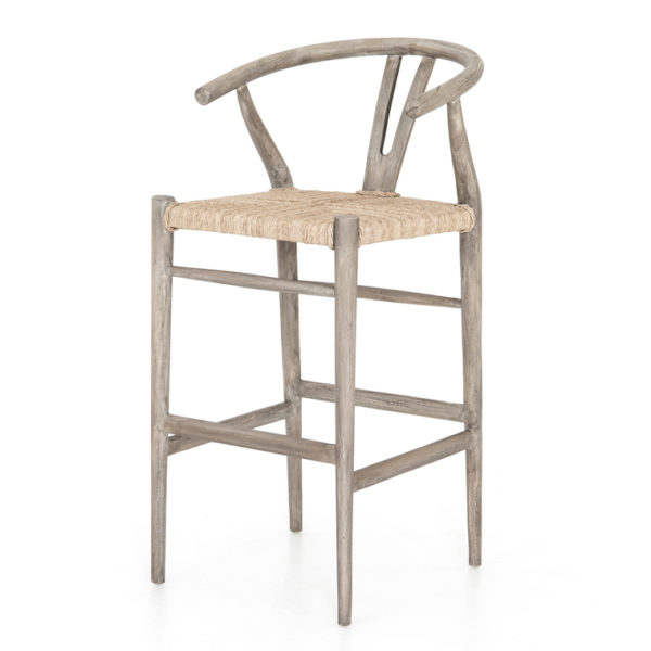 muestra counter stool gray