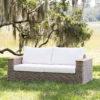 atlanta sofa uv plastic resin + natural teak
