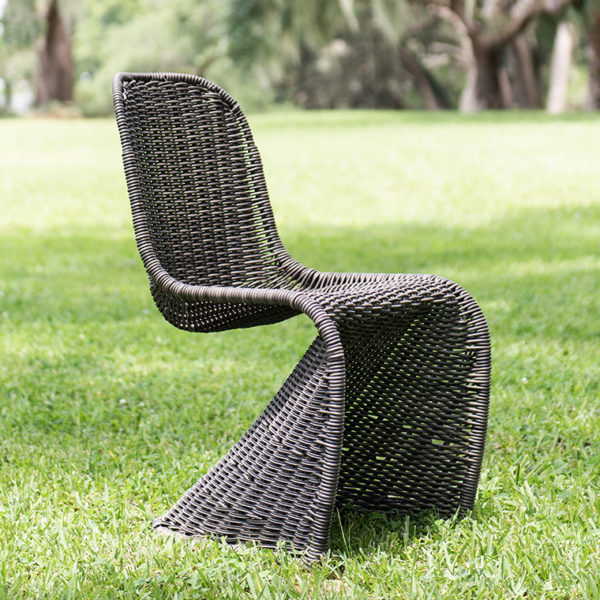 seville chair uv stone cast grey