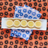 blush santorini sun dinner napkins 2