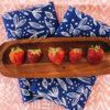 blue floral dinner napkins 1