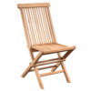 Teak ashdown chair