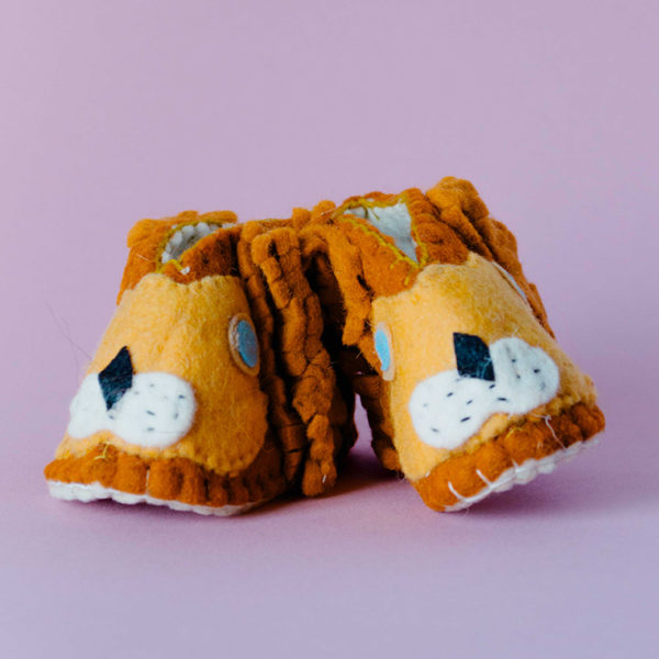 lion booties 1