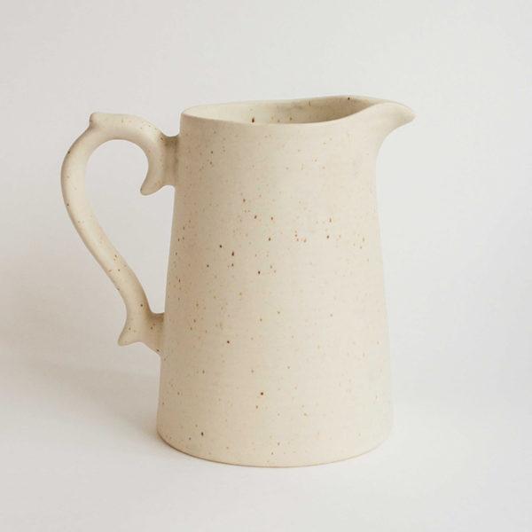 speckled pitcher large 1