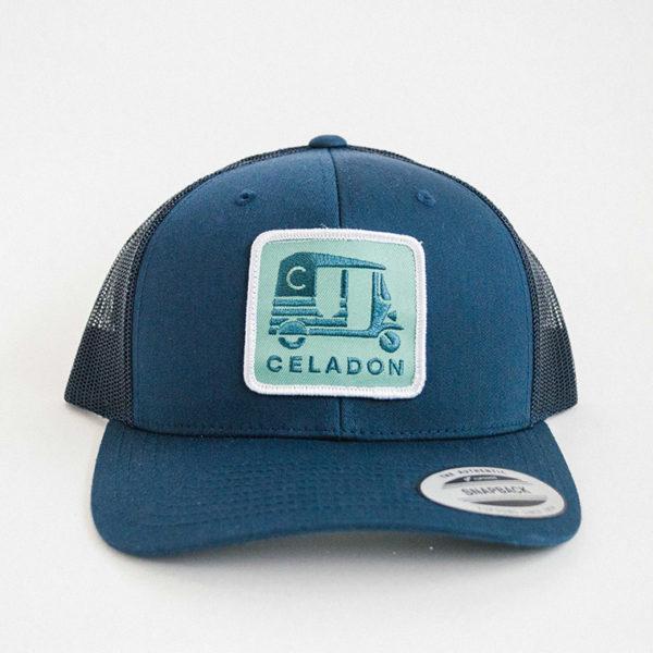 Celadon Hat 2
