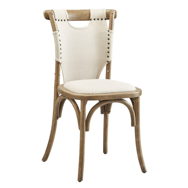 split shoulder chair