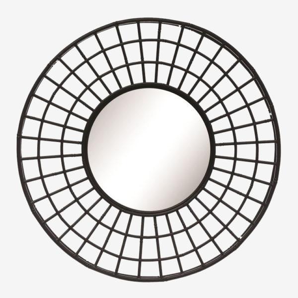 mirror-round-black