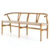 muestra dining bench natural 1