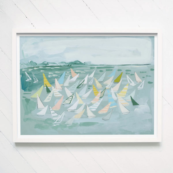 gathering sails print blakely made 1