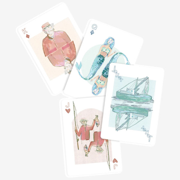 playing cards blakely made