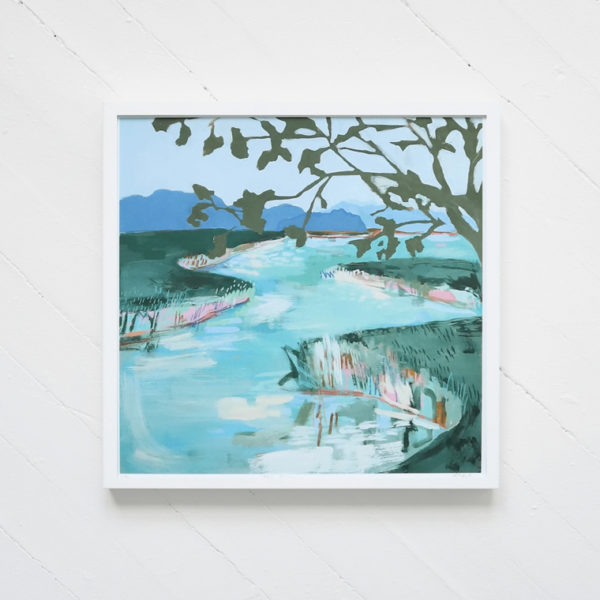 teal river print blakely made 1