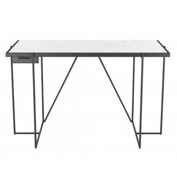winslet black marble desk