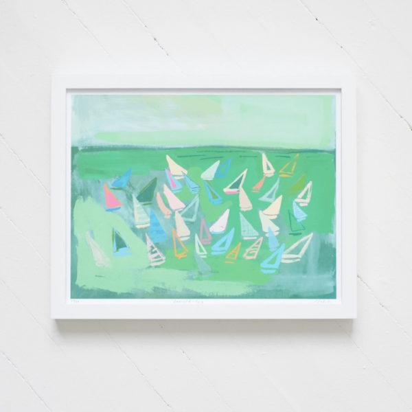 emerald sea print blakely made