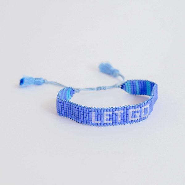hart let go blue bracelet 1