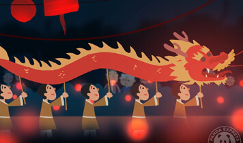 Experience the dragon dance