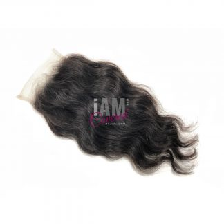 Raw Indian Temple Wavy Closure