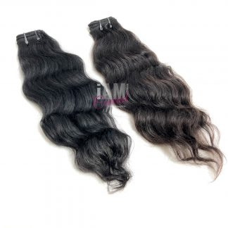 Raw Indian Temple Wavy Hair