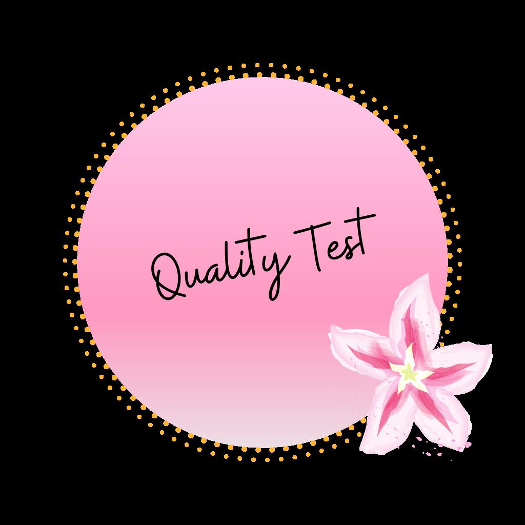 Quality Test
