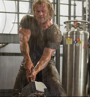 Chris Hemsworth Thor programme de musculation