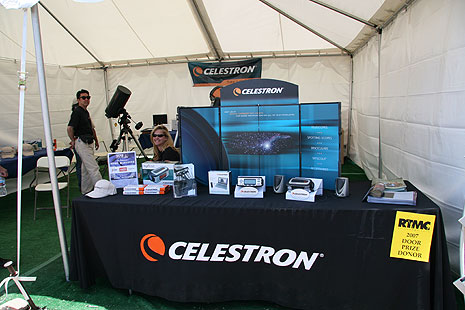 A look inside the Celestron booth at RTMC