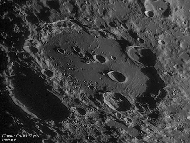 Image result for clavius crater