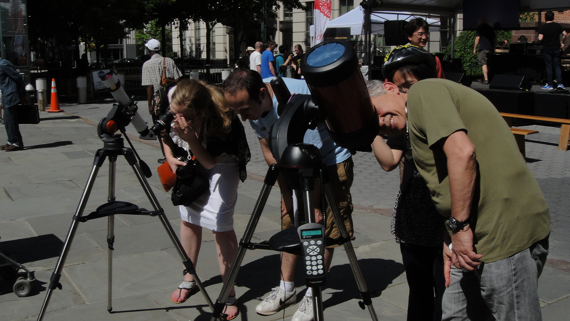 Observing the Sun at World Science Festival 2013