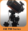 CGE Pro Series Computerized Telescopes