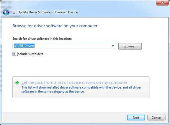 Drivers and Software