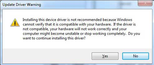 The Drivers Will Be Installed