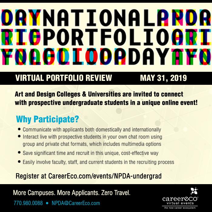 NPDA Virtual Portfolio Day - May 31st